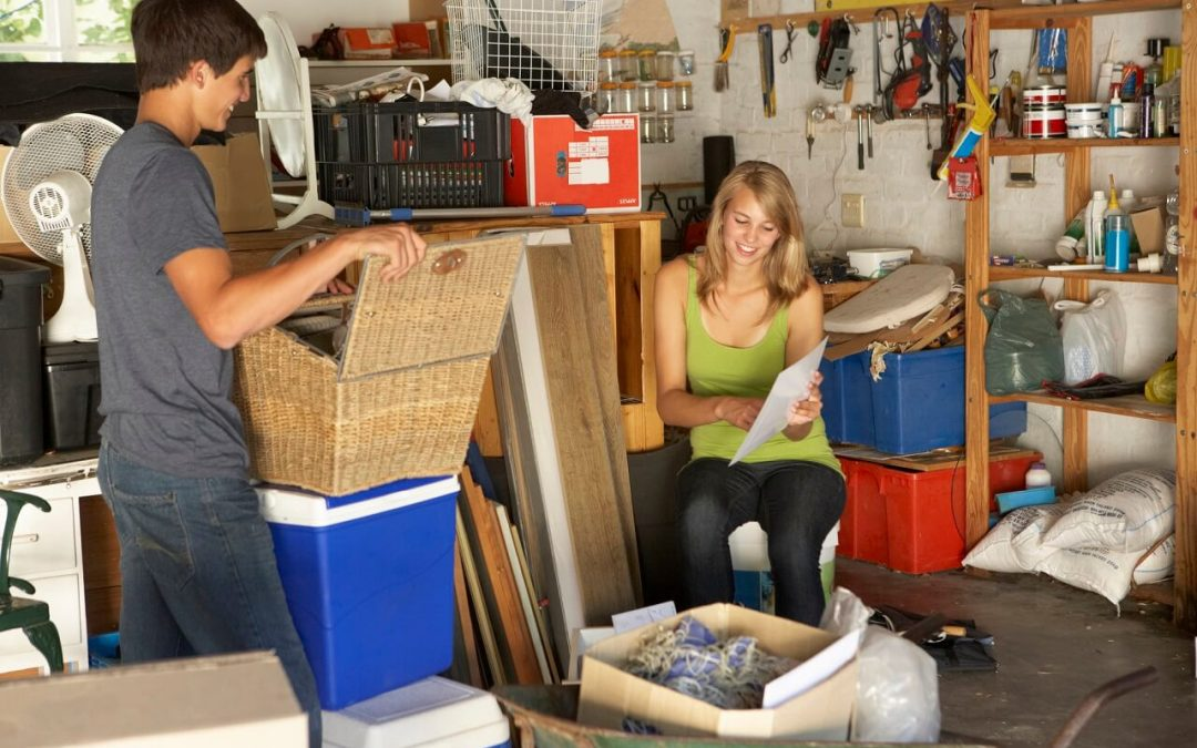 organize your garage to create more usable space
